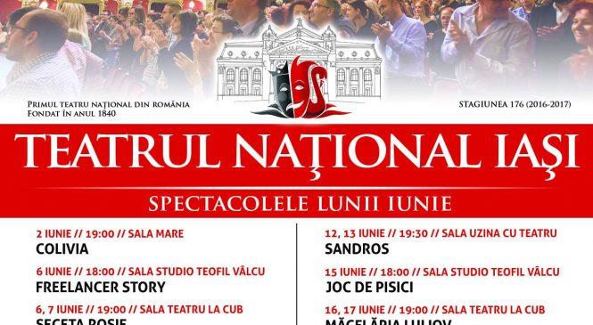 Teatrul Național Iași a făcut public programul lunii iunie