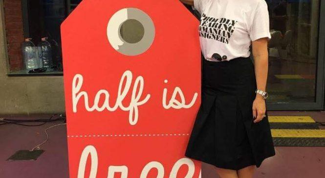 """Cum îți sună """"Half is free""""?"""