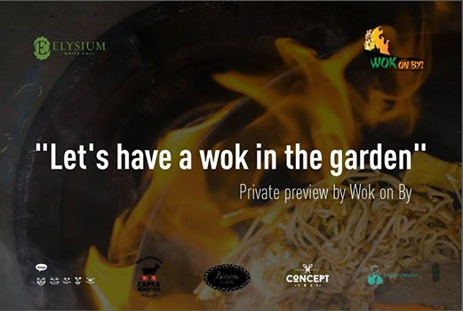Let`s have a wok in the garden!