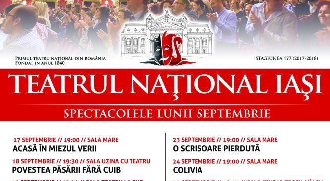 """""""Acasă, în miezul verii"""", piesa de teatru care deschide noua stagiune a Teatrului Național Iași"""