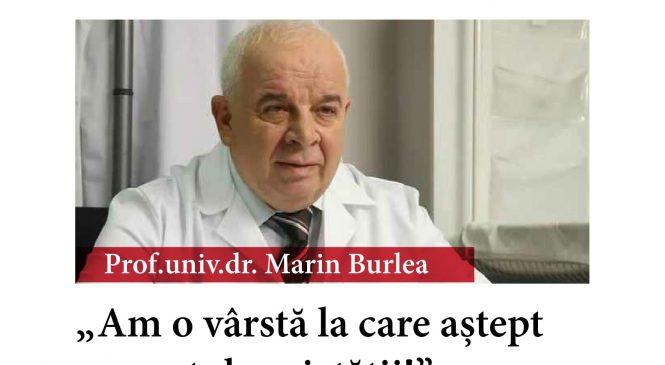 """Marin Burlea: """"Am o vârstă la care aștept respectul societății!"""""""