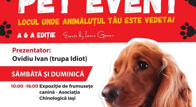 Pregătește-ți patrupedul și adu-l să socializeze la Pet Event!