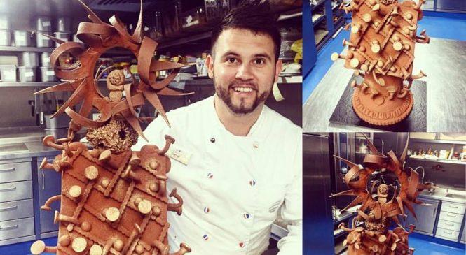 """Incursiune în universul dulce al pasiunii duse la nivel de artă. Daniel Meaucă, pastry-chef: """"Gastronomia făcută cu pasiune, în cazul meu- cofetăria și patiseria, este un mod de a transmite sentimente celor care au ocazia să guste din experimentele noastre!"""""""