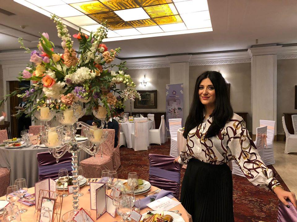 ***Alina Alexandroaie, wedding planner și florist Magenta Events***