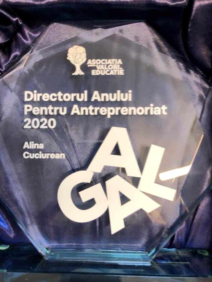 """Premiul """"Directorului Anului pentru Antreprenoriat"""""""